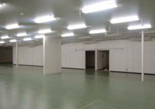 工場内間仕切り(1,551坪)