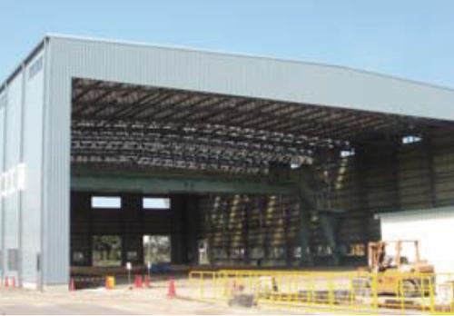 鋼管構造物製造工場(Vスパン-S/2,851㎡)