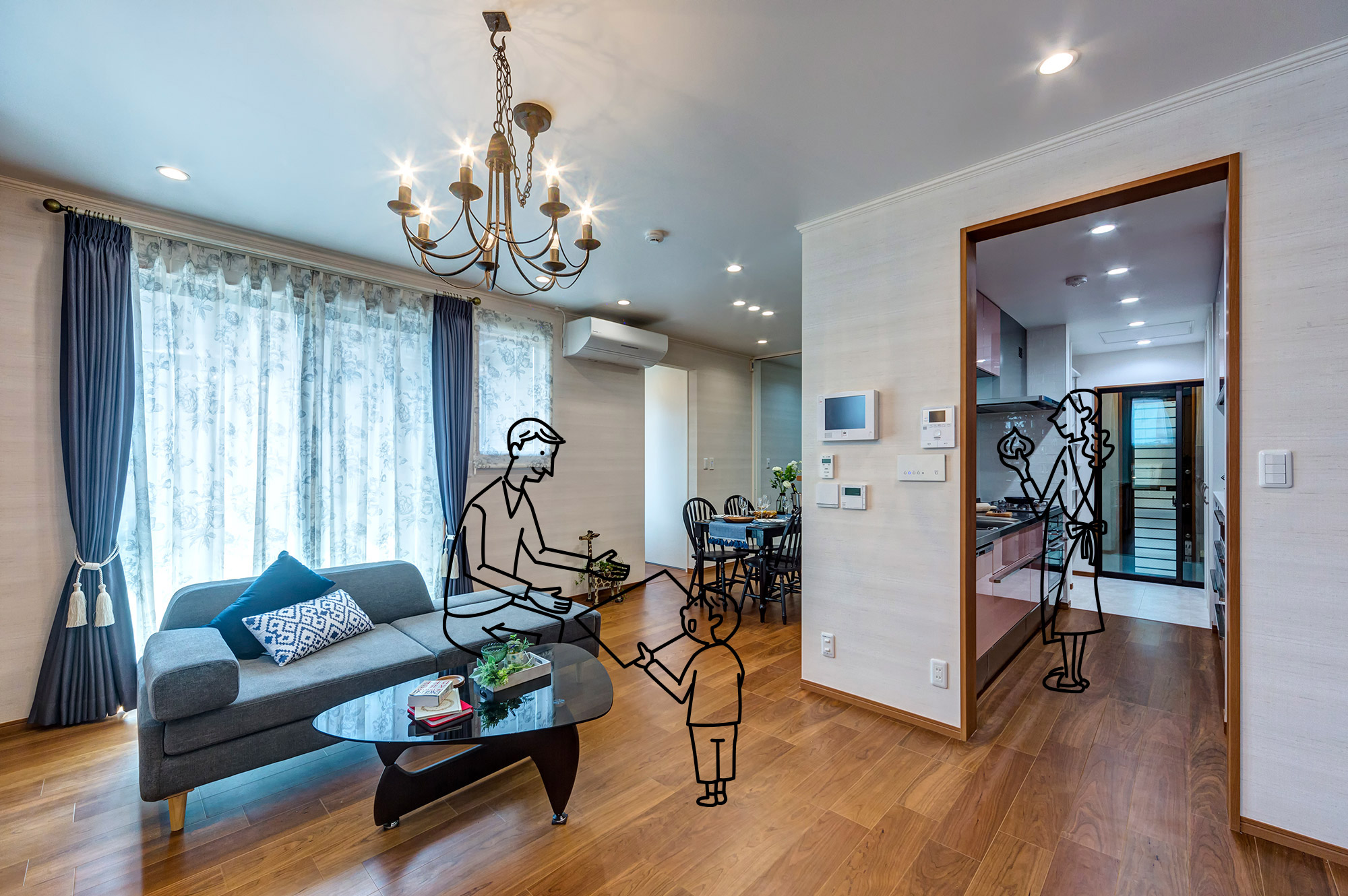 家族を繋げる家